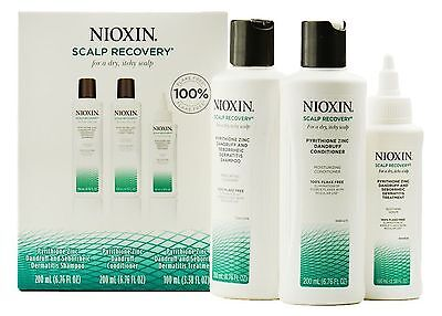 Nioxin Scalp Recovery System Kit for a dry itchy scalp