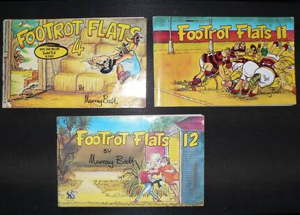 Number 4, 11 and 12 Footrot Flats - Murray Ball - STILL AVAILABLE