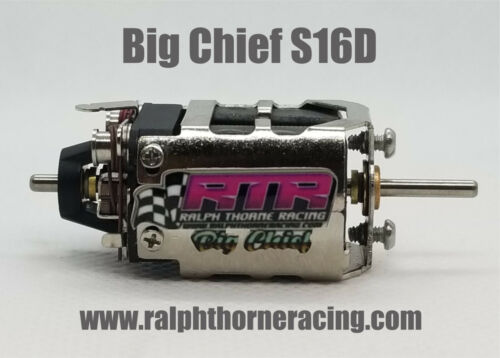 Big Chief S16D Slot Car Drag Motor Pro Slot RTR