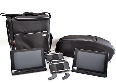 Audi Sonderpaket ''RSE Doppelplayer & Reisepaket'' RSE Paket Kühl- & Fondtasche