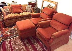 Love seat , 2 Arm Chairs made in Canada
