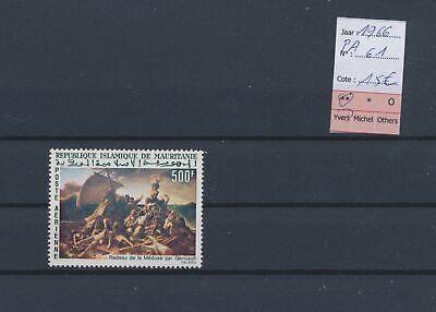 LO14317 Mauritania 1966 airmail paintings art fine lot MNH cv 15 EUR