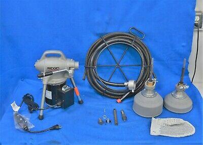 Ridgid Sectional Drain Cleaning Machine 59000