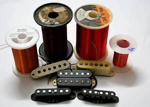 Custom handwound pickups, pickup repairs, guitar wiring Balmoral Brisbane South East Preview
