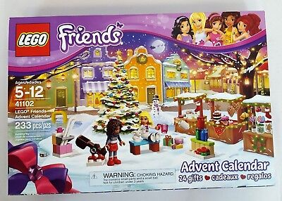 LEGO Girls FRIENDS 2015 Christmas ADVENT CALENDAR #41102 Building Kit NEW in BOX