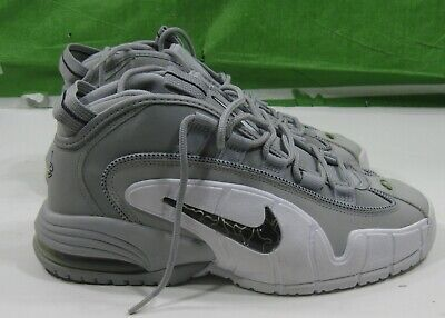buy online 3f919 789a1 Nike Air Max Penny Wolf Grey black-white 311089-003 Men s Size 8