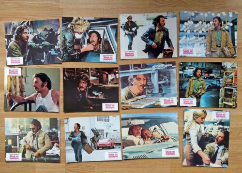 Dustin Hoffman STRAIGHT TIME - 12 German lobby cards 1978 HARRY DEAN STANTON