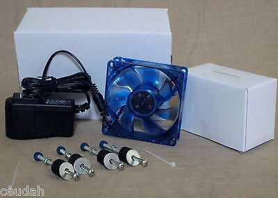 Blue Forced Air Fan Kit W Light For Eggs Incubator Installation Litt Giant Farm