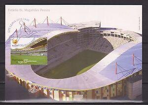 PORTUGAL-2004-FDC-MNH-MAXI-FOOTBALL-FUSSBALL-CALCIO-SOCCER-VOETBAL-FOOT