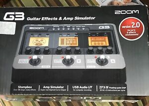 Zoom G3 guitar effects pedal