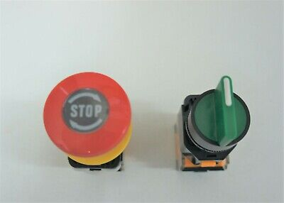 Rotary And E-stop Switches Modular Design 125 Volt 6 Amp