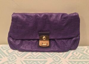 Marc By Marc Jacobs Leather Embossed Clutch