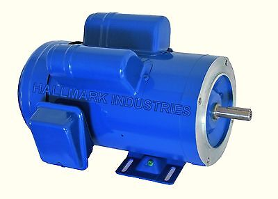 Ac Motor 2hp 1725rpm 1ph 115v208-230v 56ctefc With Base