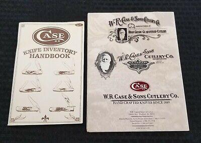 Case Knife Inventory Handbook plus Poster