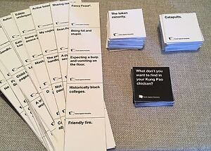 Cards Against Humanity - Brand New Homemade