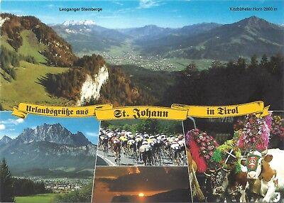 AK Urlaubsgrüße aus St. Johann in Tirol