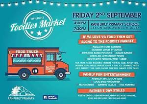 Twilight Foodies Market Friday 2nd September 4.30pm - 7.30pm Mildura Centre Mildura City Preview