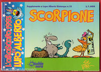 L'oroscopo Di Lupo Alberto Scorpione - Suppl.lupo Alberto 18 - Macchia Nera 1993 -  - ebay.it