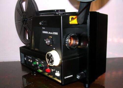 CHINON SOUND 6100 Super 8 Movie PROJECTOR  ~ SERVICED~