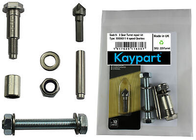 Saab 9-3 93 Gear Turret Repair Kit Sport 55556311 6 Speed Gearbox Fix Fault