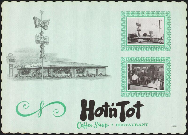 Vintage placemat HOT