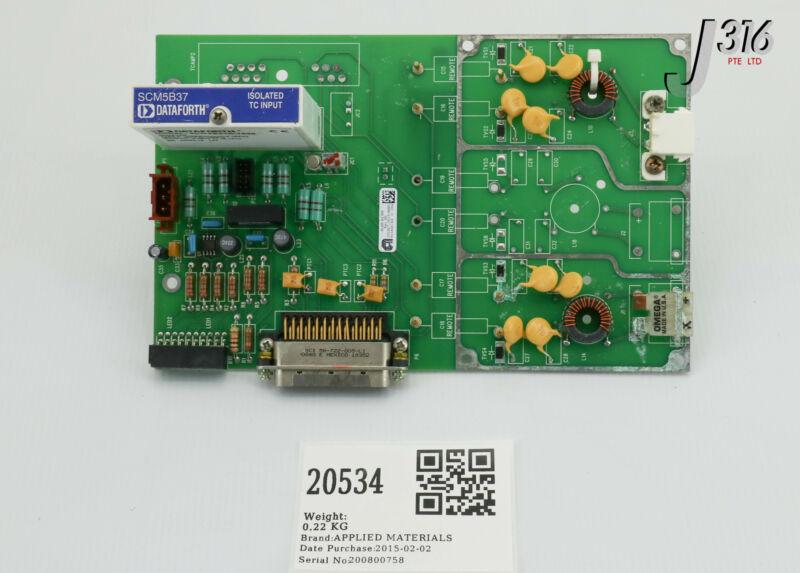 20534 Applied Materials Pcba Pib Intlk 300mm Pvd Rpg P5 0090-02830 0100-01708