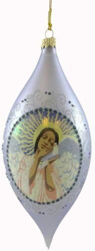 Ebony Visions 2008 LOVE GLASS Ornament  NIB