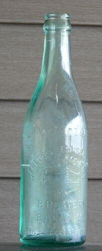 Vintage Antique Fred Bauernschmidt Brewery, Baltimore, MD Beer Bottle 1900-1925