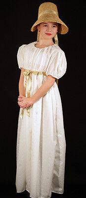 Regency-Steampunk-Cosplay-Larp-world book day-Bronte-Austin-COTTON CHILDS DRESS](Costume World Austin)