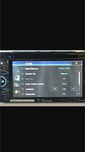 ^** PIONEER TOUCH SCREEN BLUETOOTH DVD DECK