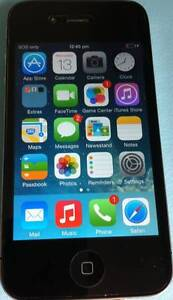 Apple iPhone 4 32GB Black Smartphone Unlocked Wantirna South Knox Area Preview