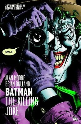 Batman: The Killing Joke, Deluxe Edition by Alan Moore, Brian Bolland, Hardcover