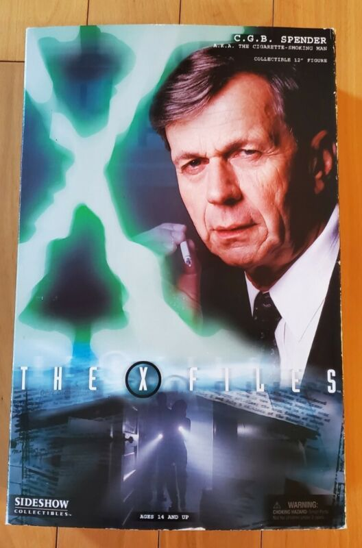 """Sideshow Collectibles X-Files CGB Spencer 12"""" Collectible USED"""