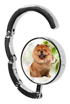 Chow Chow Dog Table Bag Handbag Purse Hanger Hook-1 by paws2print