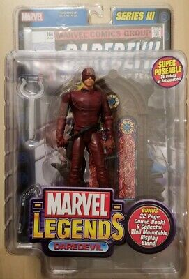 DAREDEVIL Marvel Legends Series III 3 Action Figure New Toy Biz 2002