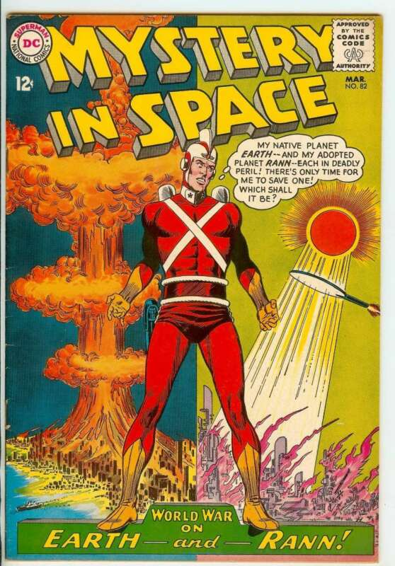 MYSTERY IN SPACE #82 8.5