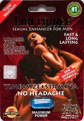Libi Prince Maximum Power Sexual Enhancement For Men 7 Days Pill  ( 6 pack -