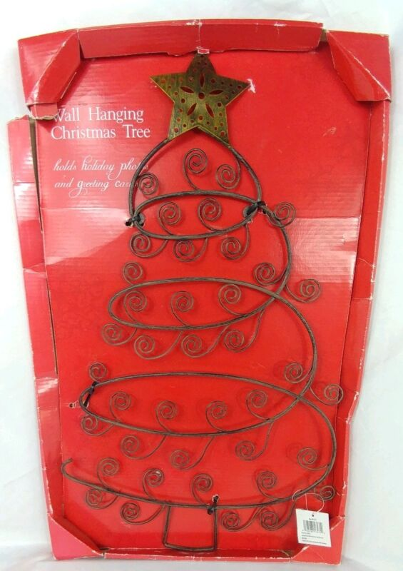 Malden Christmas Tree Wall Hanging Picture/Card Tree