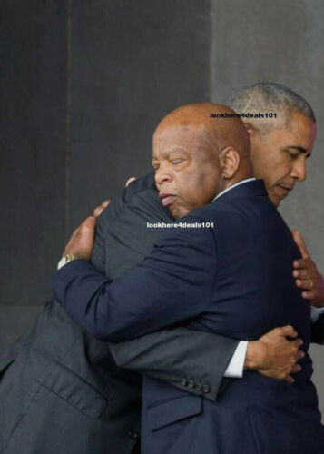 JOHN LEWIS Photo 8x10 President Barack Obama Political Memorabilia Democratic