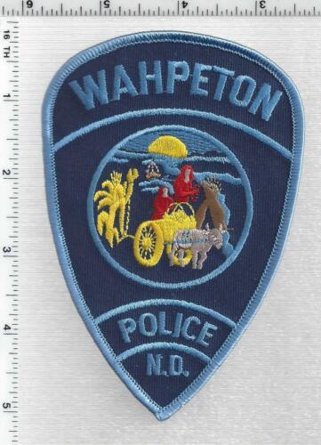 Wahpeton Police (North Dakota) 1st Issue Shoulder Patch