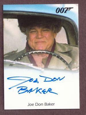 James Bond Archives Joe Don Baker as Jack Wade Autograph Card