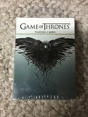 (1)HBO-GAME OF THRONES Deck of 52 Playing Cards-Factory Sealed-Dark Horse Deluxe