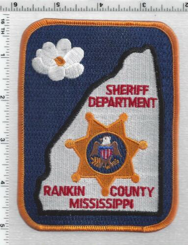 Rankin County Sheriff (Mississippi) 4th Issue Shoulder Patch