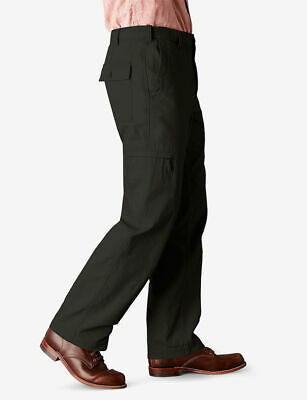 Dockers Men's Comfort Cargo D3 Classic Fit Flat Front Pant,S