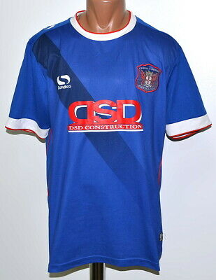 CARLISLE UNITED 2016/2017 HOME FOOTBALL SHIRT JERSEY SONDICO SIZE L ADULT image