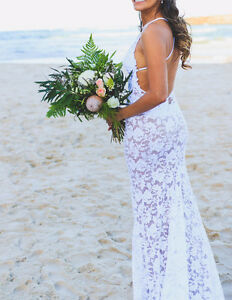 Grace loves lace wedding dress- Gisele size 8 Palm Beach Gold Coast South Preview