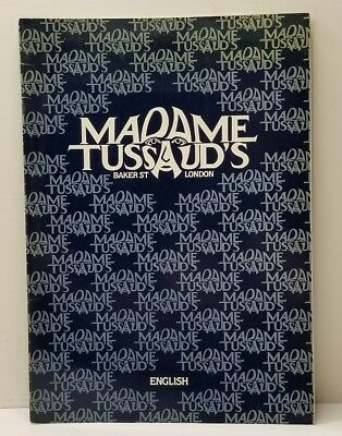 Madame Tussud's Souvenir Book, Michael Jackson,  David Bowie, Boy George & More