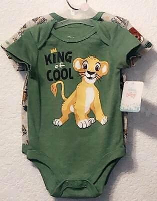 DISNEY THE LION KING BABY 2 PIECE CREEPER SET SIZE NB 0/3 12