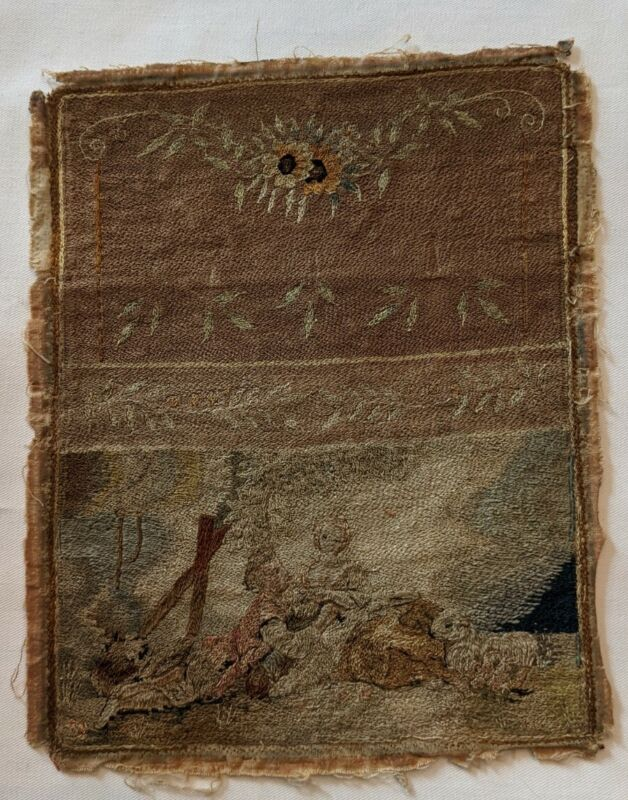 18th Century Needlework Textile