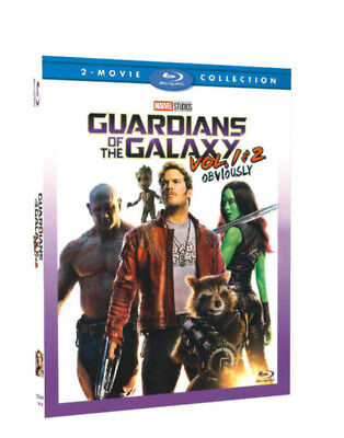 Guardians Of The Galaxy Vol  1   2  Blu Ray Box Set  Marvel Complete Collection